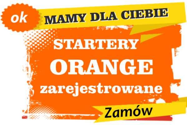 Sprzedam zarejestrowane karty sim orange Nowy Tomyśl  zadzwoń 887 332 665